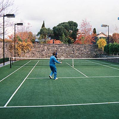 Tennis Court Construction Synthetic Grass Tennis Court Surfaces